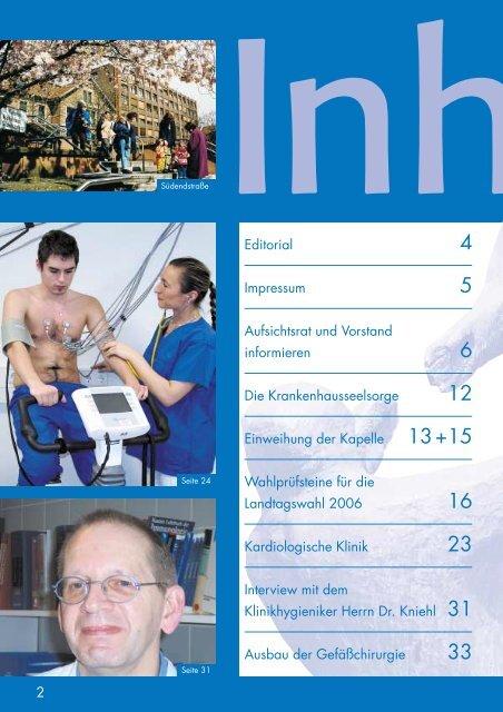 Vincenz AktuellÜber - St. Vincentius-Kliniken gAG