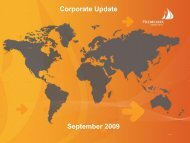 September 2009 Corporate Update - Heemskirk