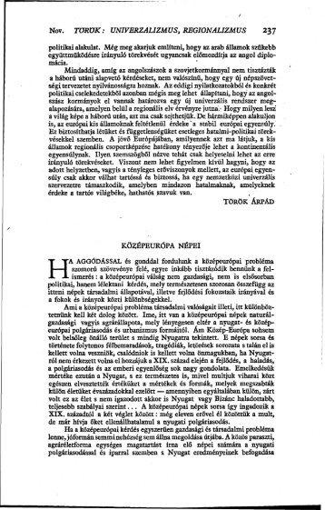 Magyar Szemle 45. kötet (1943. 7-12. sz.) - izamky.sk