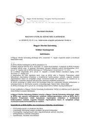 A pályázat ITT letölthető (.pdf) - Porthole