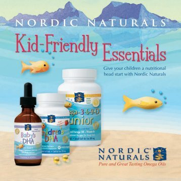 Give your children a nutritional head start with Nordic Naturals