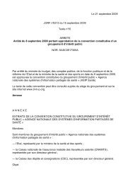Le 21 septembre 2009 JORF n°0213 du 15 septembre 2009 Texte n ...