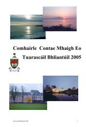 Tuarascáil Bhliantúil 2005 - Mayo County Council