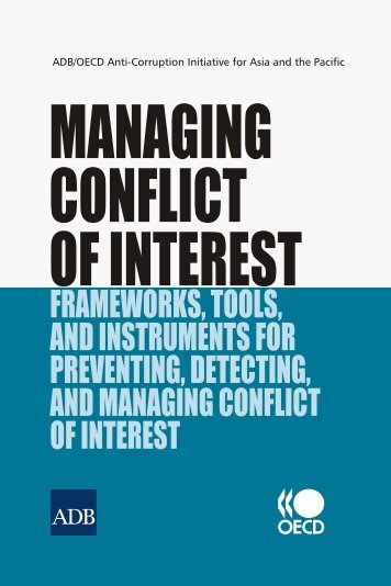 Managing Conflict of Interest - Organisation for Economic Co ...
