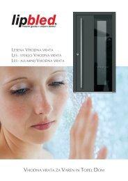 Vhodna vrata_PRESTIGE - Katalog / lipbled