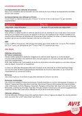 Guide de la location Avis en France http://www.avis.fr - Page 7