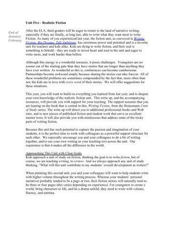 Realistic educational curriculum essay