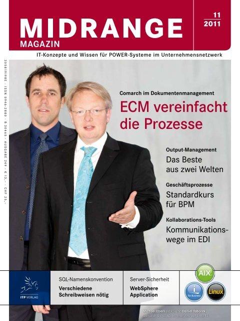ECM vereinfacht die Prozesse