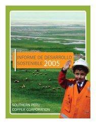INFORME DE DESARROLLO SOSTENIBLE 2005 - SocialFunds.com