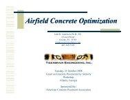 Ai fi ldC O iii Ai fi ldC O iii Airfield Concrete Optimization - American ...