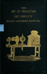 The Art of projection and complete magic lantern ... - Yesterday Image