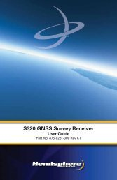 Product Name S320 GNSS Survey Receiver