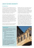 GUIDE TO OXFORD - University of Oxford - Page 4