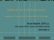 Legal unbundling - EEIP, as