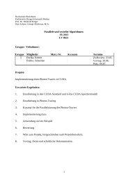 Aufgabe [pdf] - Labor für Verteilte Systeme - Hochschule RheinMain