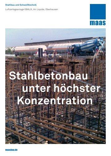 Stahlbetonbau unter höchster Konzentration