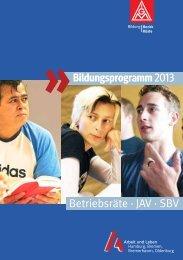 Seminarübersicht 2013 - Arbeit und Leben Bremen eV