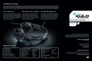 QUICK INSTALLATION GUIDE SPECIFICATIONS ... - Roccat