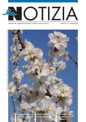 N.77 aprile (3,66Mb Pdf) - la Notizia