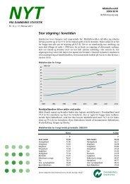 Nyt: Middellevetid 2009/2010 - Danmarks Statistik