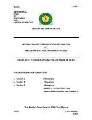 Melaka - Jabatan Pelajaran Negeri Kedah