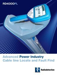 Advanced Power Industry Cable line Locate and Fault Find - Dia-Test