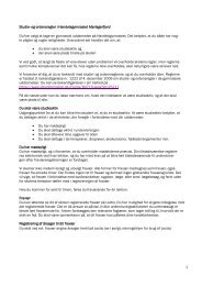 1 Studie- og ordensregler i Handelsgymnasiet ... - Tradium