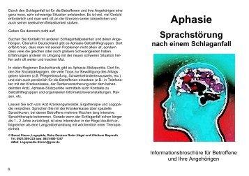 Flyer Aphasie - AFGiB