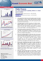 Kuwait Economic Brief Public Finance - National Bank of Kuwait