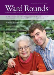 Patients Teach Students - Ward Rounds - Northwestern University