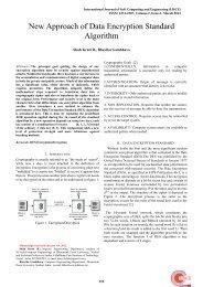 New Approach of Data Encryption Standard Algorithm - International ...