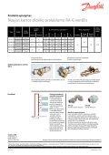 RA-G didelio pralaidumo termostatiniai ventiliai - Danfoss - Page 2