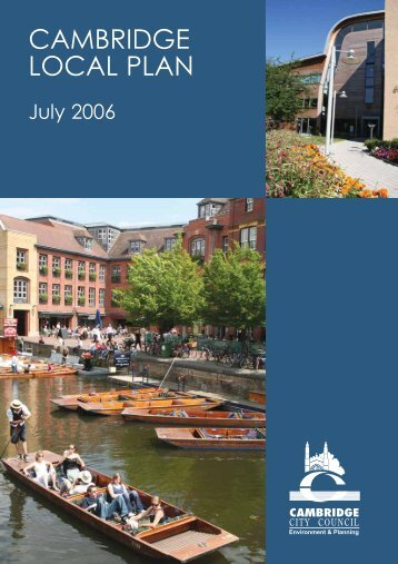 Cambridge Local Plan [PDF] - Cambridge City Council