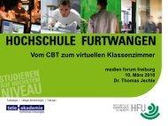 Folie 1 - beim medien forum freiburg