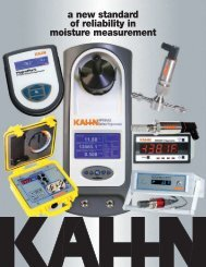 Hygrometers Catalog - ETA Process Instrumentation