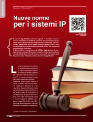 Nuove norme per i sistemi IP - Forum Assotel