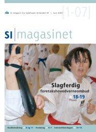 SI Magasinet nr 1-2007 - Sykehuset Innlandet HF