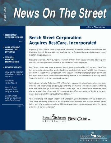 News On The Street - Beech Street