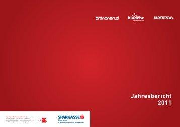 Jahresbericht 2011 - Urlaub in der Alpenregion Bludenz