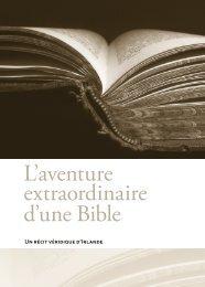 L'aventure extraordinaire d'une Bible