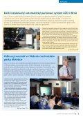 Louny−Peruc: první přejezdy v České republice s ... - AŽD Praha, sro - Page 5