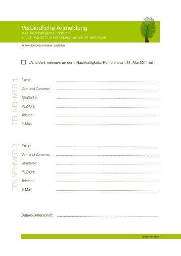 Anmeldung als PDF - Nationalpark Hainich