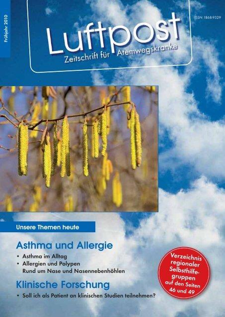 Asthma und Allergie - Patientenliga Atemwegserkrankungen e.V.