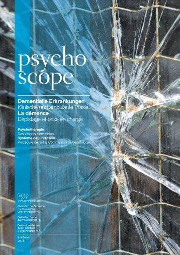 PSC 8-9-10 - bei der Föderation der Schweizer Psychologinnen und ...