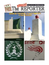January 20 to 27, 2006 Volume 13, Issue 4 - Bonaire Reporter