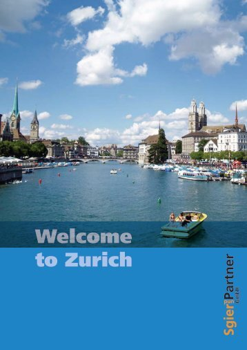 Welcome to Zurich Guide (PDF / 3MB) - Indian Association Zurich