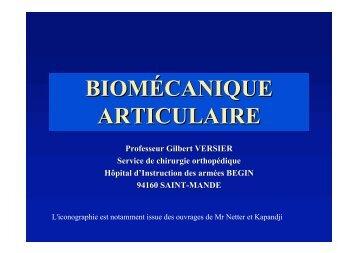 Généralités Biomécanique - ClubOrtho.fr