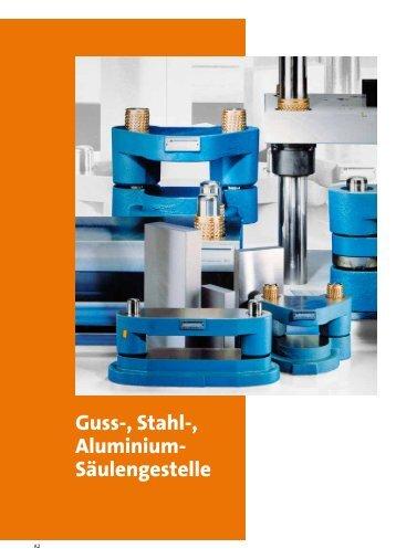 Guss-, Stahl- und Aluminium-Säulengestelle Säulengestell ...