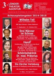 Schauspielangebot 2014 - 2015 - 3-Länder-Theater Agentur