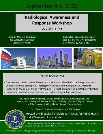 Radiological Awareness and Response Workshop